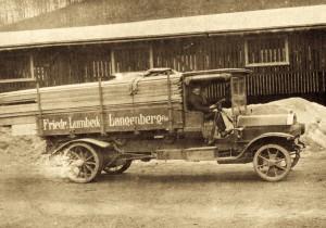 erster Lastwagen Lumbeck