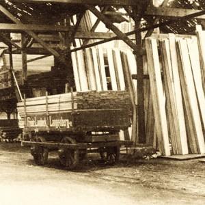 Neuaufbau Holzlager
